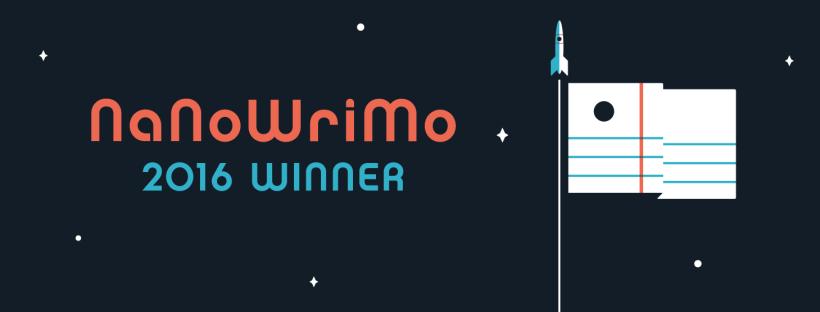 Nanowrimo 2016 winner banner