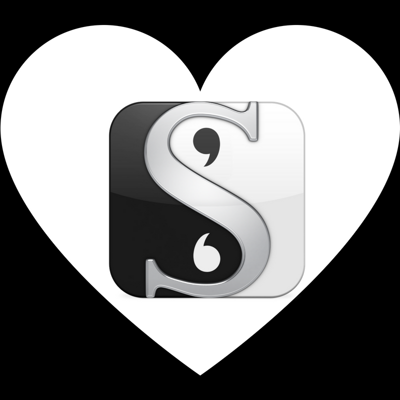 a love letter to scrivener
